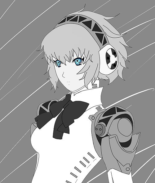 Aigis [Persona 3] by gohanpapillon