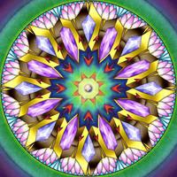 Mandala Challenge 1 by Kittenpants
