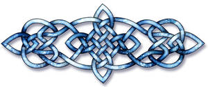 Celtic Knot - Starlight and Sea