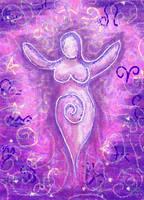 The Divine Feminine by Kittenpants