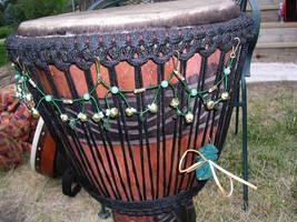 Drum Necklace - Elven by Kittenpants
