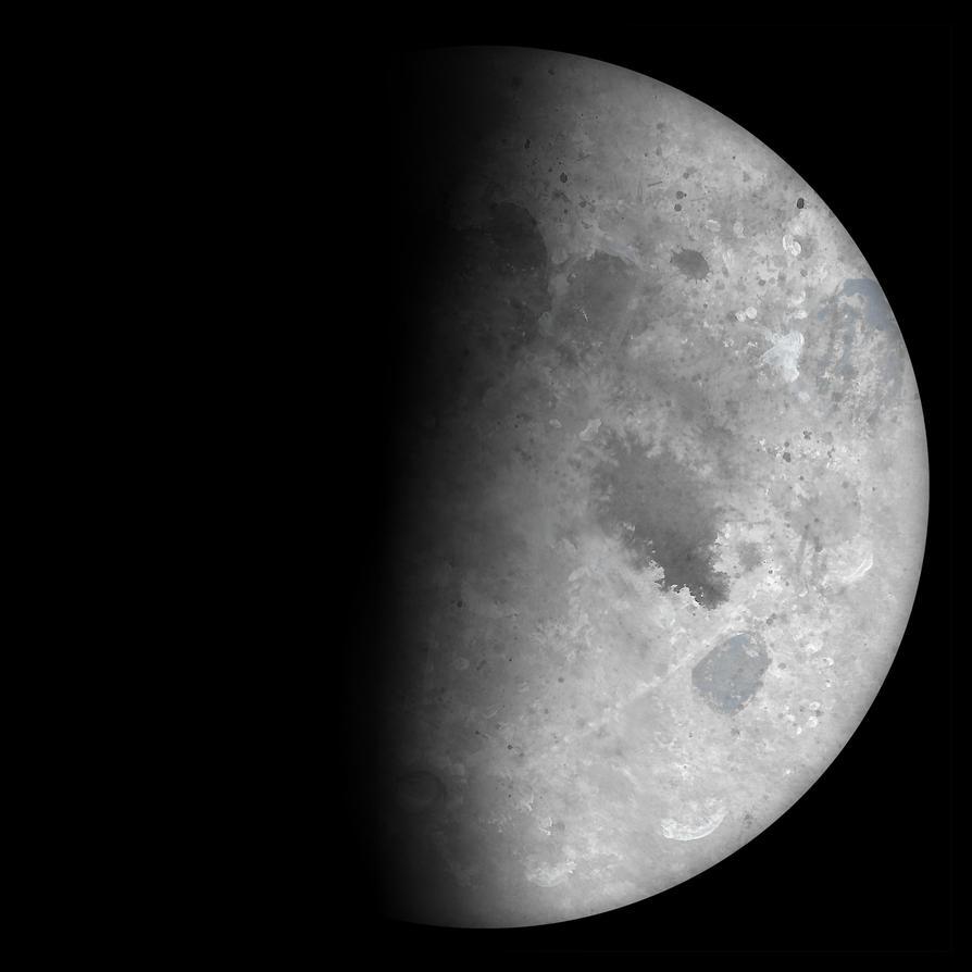 Waxing Half Moon by Kittenpants