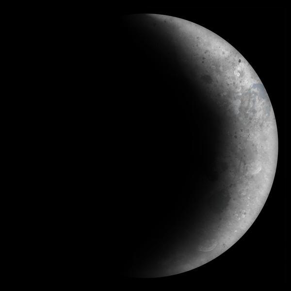 Waxing Crescent Moon by Kittenpants