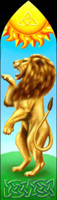 Lion of Lugh by Kittenpants