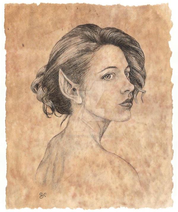 Portrait of Zsofiel by Kittenpants