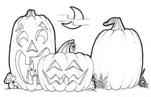 Pumpkins for Samhain by Kittenpants