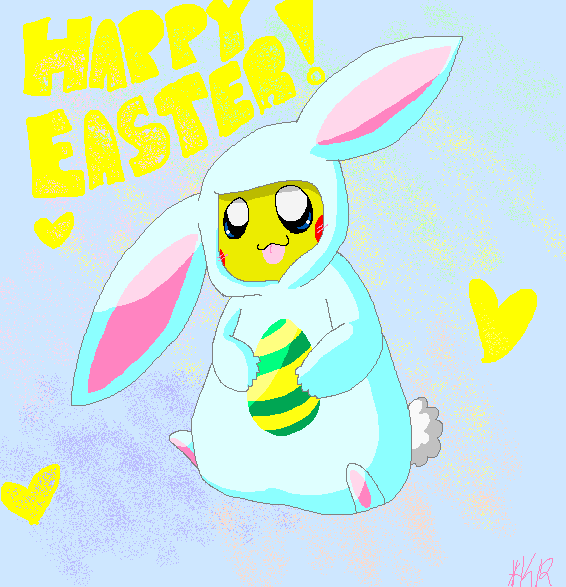 Happy Easter by Gummi-bear246