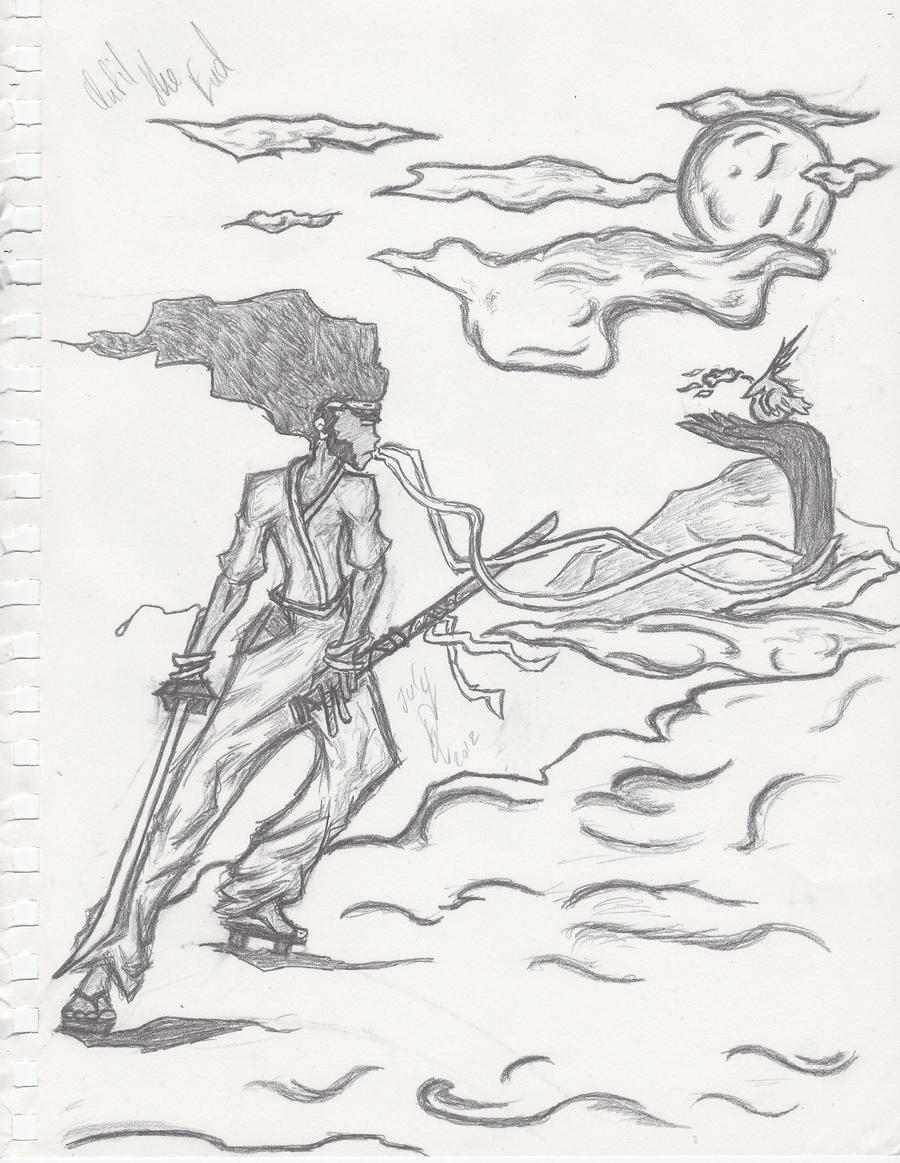 Afro Samurai -Fan Art- by BladenCross13