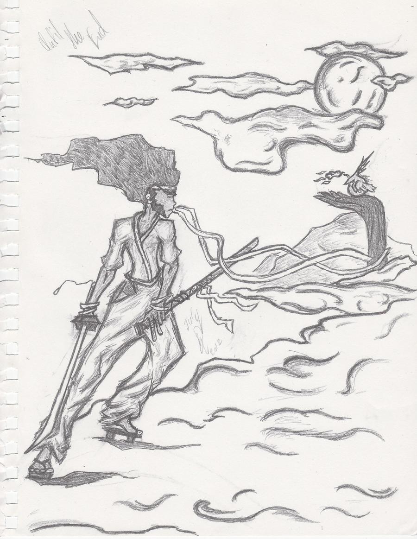 Afro Samurai -Fan Art- by BladenCross13
