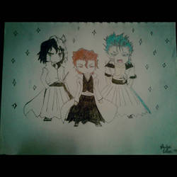 Chibi Bleach Boys