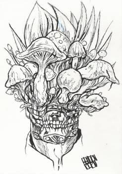 Dorohedoro : En (Mushrooms Head) - Traditional 1