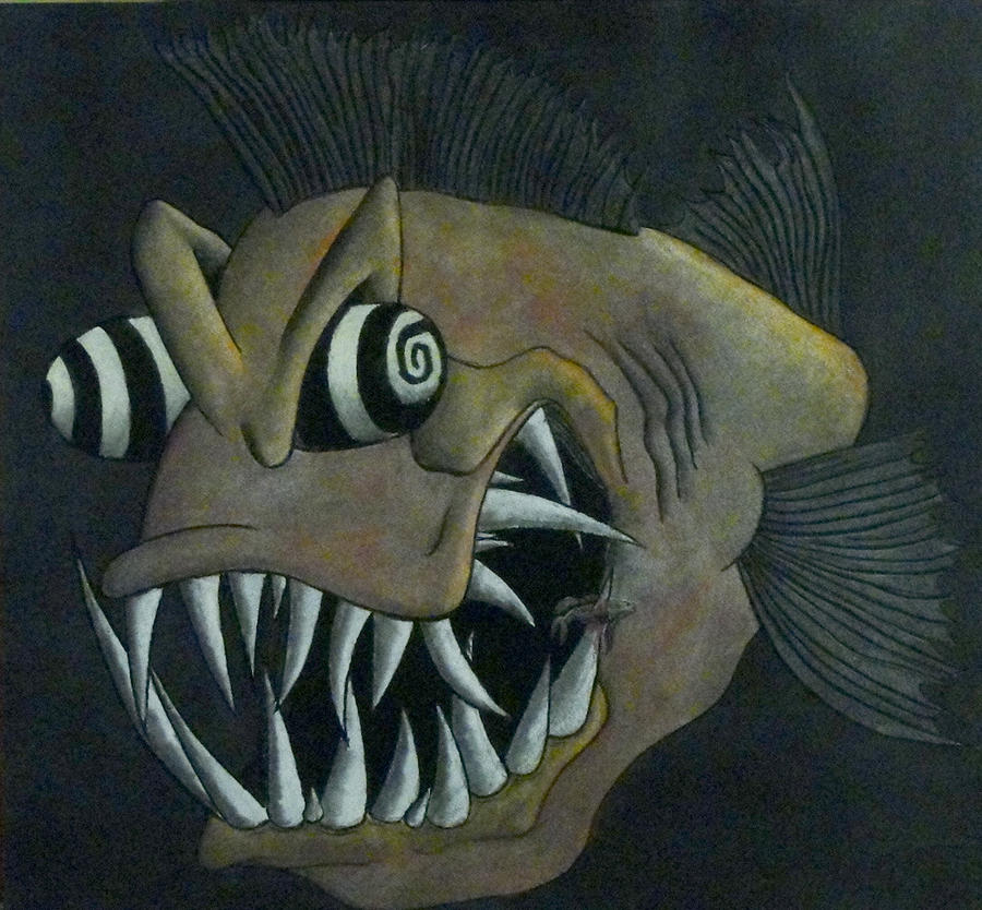 Crazy fish by bajambo on deviantart for Crazy fishing videos