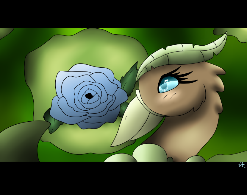 Monthly Prompt: Giant Rose by shadowolf1004