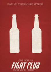 Fight Club Minimalist Poster 1