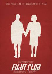 Fight Club Minimalist Poster 2