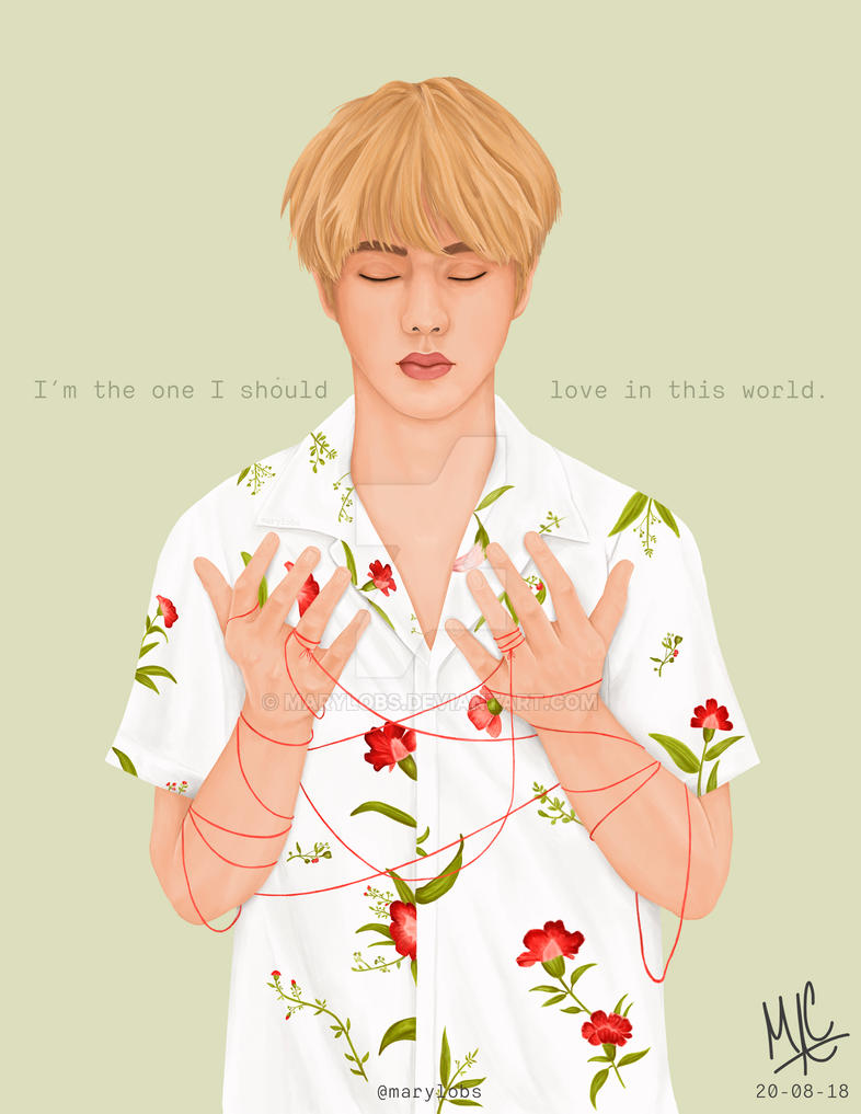 Bts Jin Epiphany By Marylobs On Deviantart