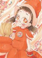Kakao Card - Hazuki Carnival Witch Dress by Parodygirl-Samy