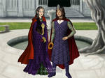The queen Arwen and the king Aragorn