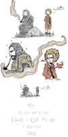 The Hobbit: Losing my way by MariChan27