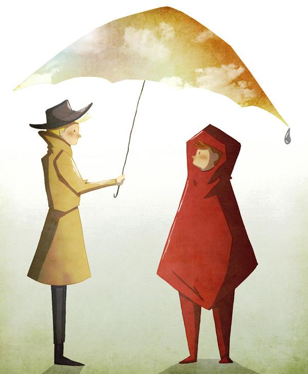 Spirou et Fantasio: Hey little red riding hood by MariChan27