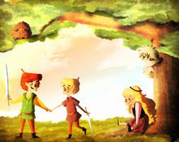 Disney friends crossover by MariChan27