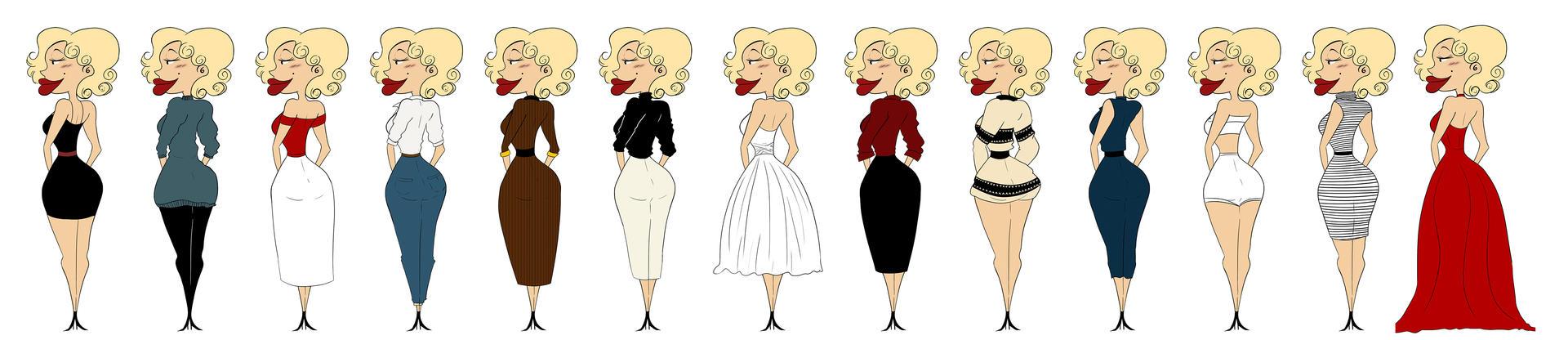 Marilyn Monroe - Style icon by MariChan27