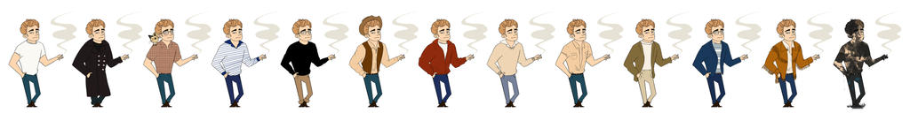 James Dean - Style icon by MariChan27