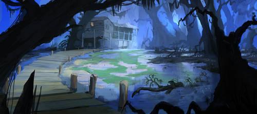 Commision: Swamp Black V2 3 by flockenpracht