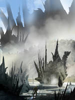 Alien Landscape by flockenpracht