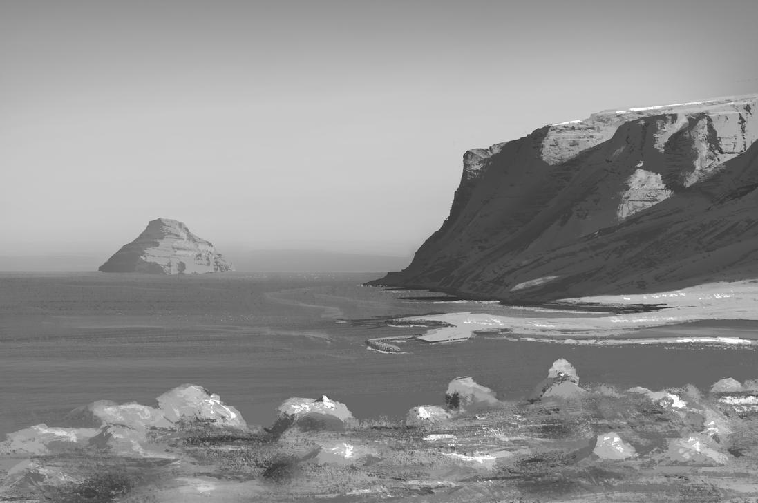 cliffs by flockenpracht