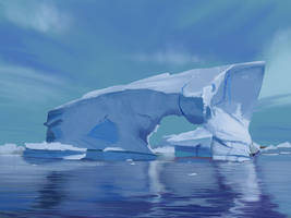 Iceberg by flockenpracht