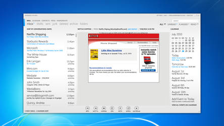 MetroMail - Mail UI
