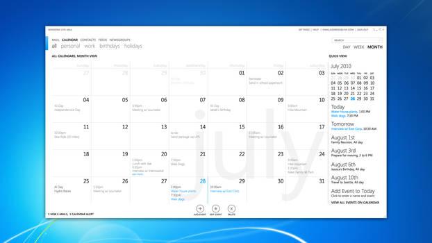 MetroMail - Calendar