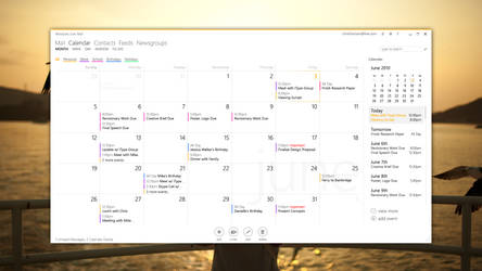 Windows Live Mail - Calendar by clindhartsen