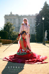 With the Gods - Shojo Kakumei Utena by KiraMinami