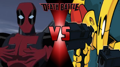 CLAIM: Deadpool VS SCUD by totalgymvssonic