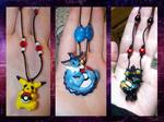 Pokemon Necklace Batch