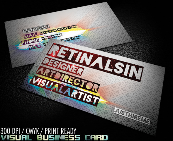 Visual Business Card