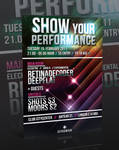 MUSIC FLYER -PSD-