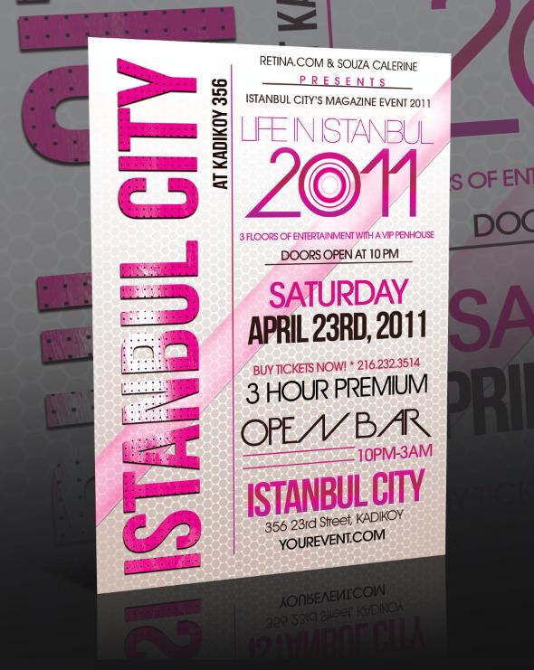 Event Flyer Template -PSD-