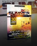 Summer Party Flyer -PSD-