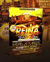 Reina Club Flyer -PSD- by retinathemes