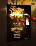 Nightclub Flyer Template -PSD-