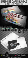 GREAT BUSINESS CARDS BUNDLE