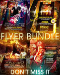PSD Amazing Flyer Bundle - 4in1