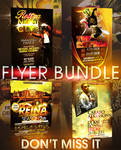 CLUB FLYER BUNDLE - 4IN1
