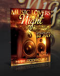 MUSIC LOVERS FLYER -PSD-