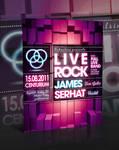 Liverock Flyer Template -PSD-
