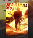 PSD Magical Music Flyer