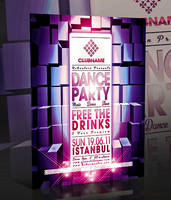 PSD DANCE PARTY FLYER by retinathemes